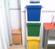 contenedor, ecológico, vertical